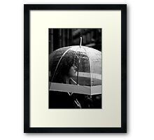 Not singing... Framed Print