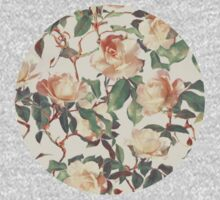 Soft Vintage Rose Pattern Kids Clothes