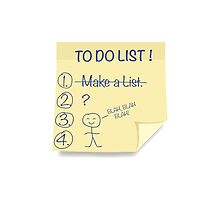 To Do List by wordquirk