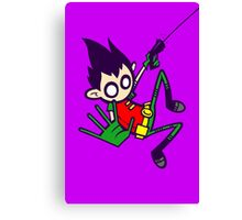 Boy Wonder Canvas Print