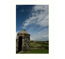 Charles fort turret Two Art Print