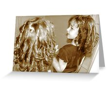 here's looking at....ME! Greeting Card
