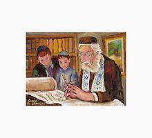 PAINTINGS OF JEWISH CULTURE THE TORAH LESSON  Unisex T-Shirt