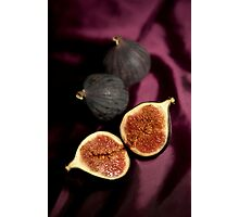 Still life with figs Photographic Print