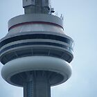 CN Tower Toronto by LeftHandPrints