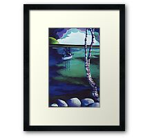 The Birch's View Framed Print