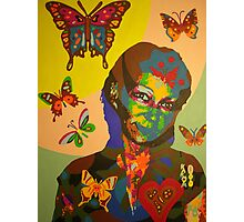 butterflygirl 2008 Photographic Print
