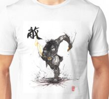 Kai Leng from Mass Effect with Calligraphy Unisex T-Shirt