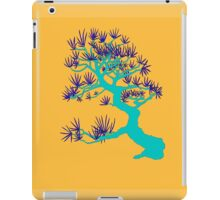 Turquoise Pine Bonsai (Orange Background)  iPad Case/Skin