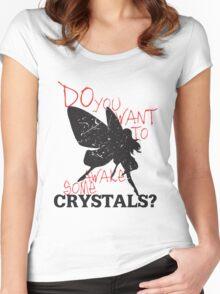Not Yet! Just a LIttle Longer! (Light) Women's Fitted Scoop T-Shirt