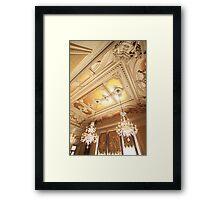 Palácio Foz. Framed Print