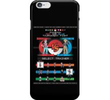 Kanto Fighters iPhone Case/Skin