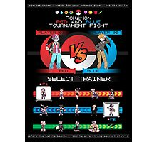 Kanto Fighters Photographic Print