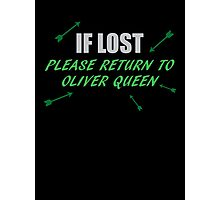 If Lost Photographic Print