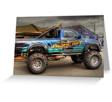 Offroad Racer Greeting Card