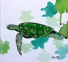 Turtle Study by createdtocreate