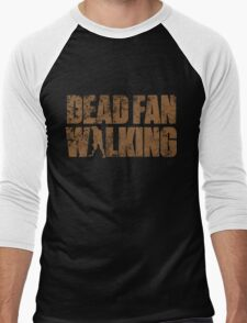 Dead Fan Walking Men's Baseball ¾ T-Shirt