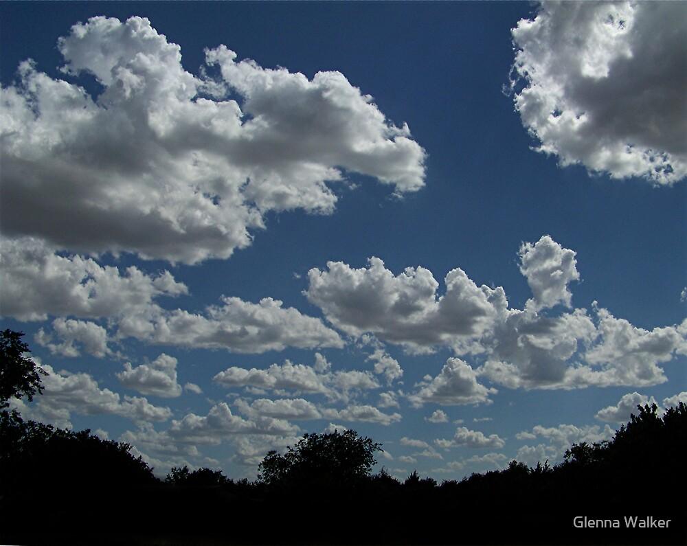 Cumulous Clouds by Glenna Walker