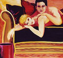 Couch Loafing by Jill Mattson