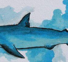Shark Study Sticker