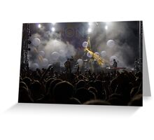 Passion Pit Concert Greeting Card