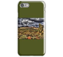 Saguaro, Red Rock and Hills iPhone Case/Skin