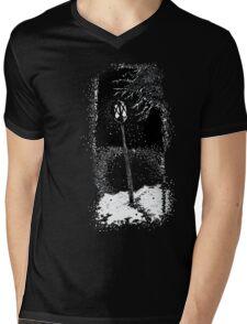 Snow  Mens V-Neck T-Shirt