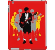 Taking the Lead - Angus Young iPad Case/Skin