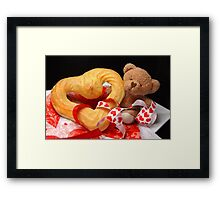 From the Bottom of My Bear's Heart Framed Print