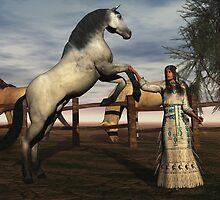 Training A Stallion by Abeque  Wikimac