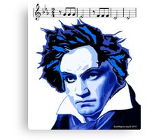 Beethoven and The Fifth  Canvas Print
