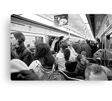 Metro! Canvas Print