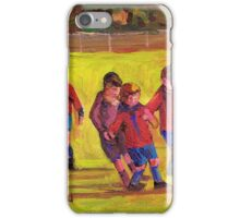 SOCCER GAME  iPhone Case/Skin