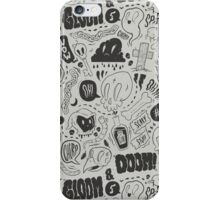 Gloom & Doom pattern iPhone Case/Skin