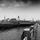 The coastal city of Vlissingen, The Netherlands by M. van Oostrum