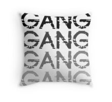 Chief Keef GANG GANG GANG Throw Pillow