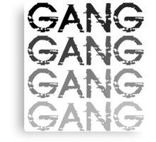 Chief Keef GANG GANG GANG Metal Print