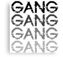 Chief Keef GANG GANG GANG Canvas Print