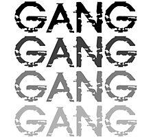 Chief Keef GANG GANG GANG Photographic Print