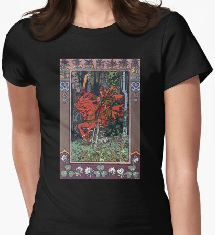 Fantasy Poster 6 (Reproduction) Womens Fitted T-Shirt