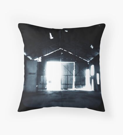 The Irony of Nightmares Throw Pillow
