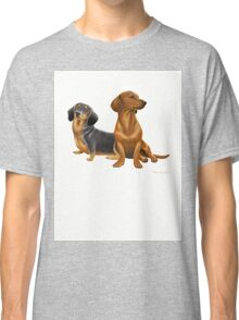 Dachshund Doxie Dogs Classic T-Shirt