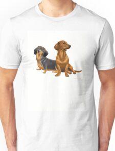 Dachshund Doxie Dogs Unisex T-Shirt