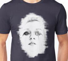 Sci-fi minimalist portrait -- digital painting Unisex T-Shirt