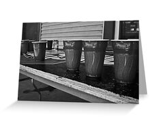 Beer Pong time! Greeting Card
