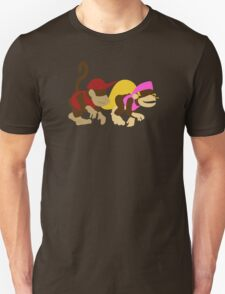 DK2: Diddy and Dixie Unisex T-Shirt
