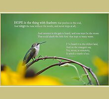 Hope Inspirational Art by Christina Rollo