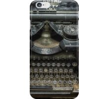 Royal Typewriter iPhone Case/Skin