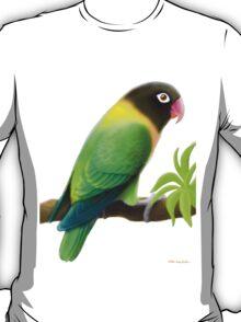 Masked Lovebird Green T-Shirt