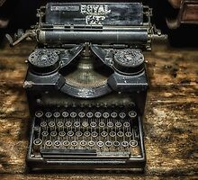 Royal Typewriter by Nigel R Bell